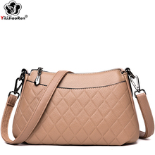 Fashion Diamond Lattice Shoulder Bags Female High Quality Leather Crossbody Bags for Women Luxury Handbags Women Bags Designer leather bags women luxury handbags women bags designer shoulder bags crossbody bags women high quality