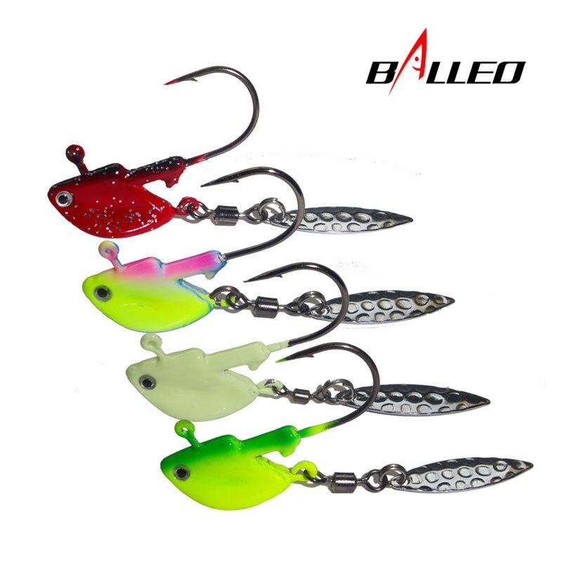 15 pk 5//16 oz Round Head Walleye Bass Fishing Jigs Red Aberdeen Hooks