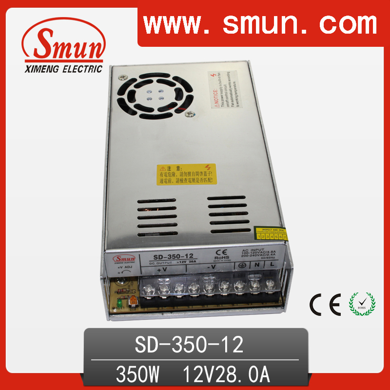 350w 19 36VDC to 12VDC switching power supply DC DC converter with CE ROHS 1 year