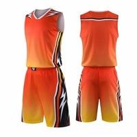 Men Basketball Jerseys Kids College Basketball Uniforms Mens Sport Kit Shirts Shorts Suit Training Breathable Vest Custom Print