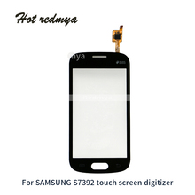 5Pcs/lot Touch Screen Digitizer Sensor Front Outer Glass Lens Panel For Samsung Galaxy Trend Lite S7390 S7392 Parts for samsung galaxy trend lite s7390 s7392 lcd display panel monitor screen repair replacement part free tracking