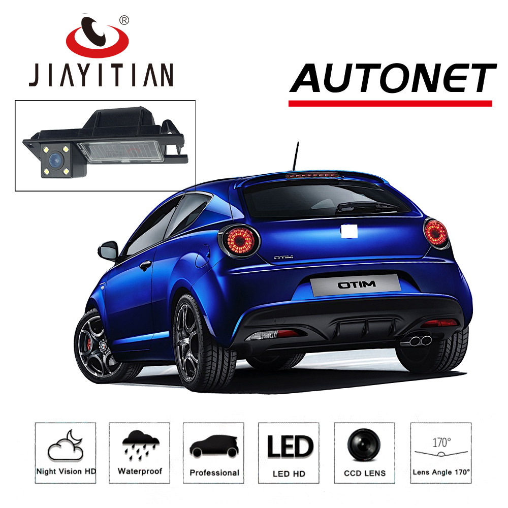 JIAYITIAN Rear View Camera For Alfa Romeo MITO 2008 2010 2012 2014 2016 2018/CCD/Night Vision/backup Camera/license plate camera original wismec sinuous p80 kit with elabo mini tank 2ml 80w max output mod box uses single 18650 battery electronic cigarette