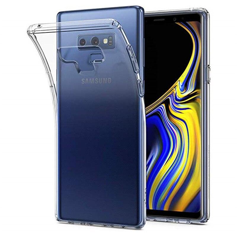 Note 9 For Samsung Galaxy Note 9 Case Transparent Soft TPU Cases For Samsung Galaxy S10 Plus S10e G970U G973U G975U Back Cover