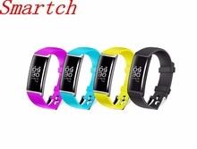 Smartch X9 Bluetooth Smart Браслет Фитнес трекер сердечного ритма шагомер спортивные часы браслет умный браслет