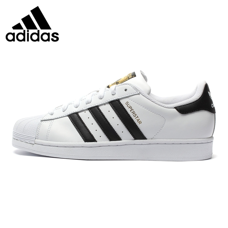 Prix pour Original Nouvelle Arrivée 2017 Adidas Originals Superstar Classiques Hommes de Planche À Roulettes Chaussures Sneakers