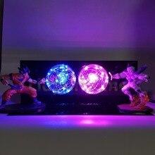 Dragon Ball Z Son Goku VS Freeza Luminaria LEVOU Luzes Da Noite Anime Dragon Ball Super Brinquedo Estatueta DBZ Levou Candeeiro de Mesa de Luz