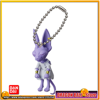 DRAGONBALL Dragon Ball Z Original BANDAI Phone/Key Chain Gashapon PVC Toys Figures UDM Burst 14 Beerus