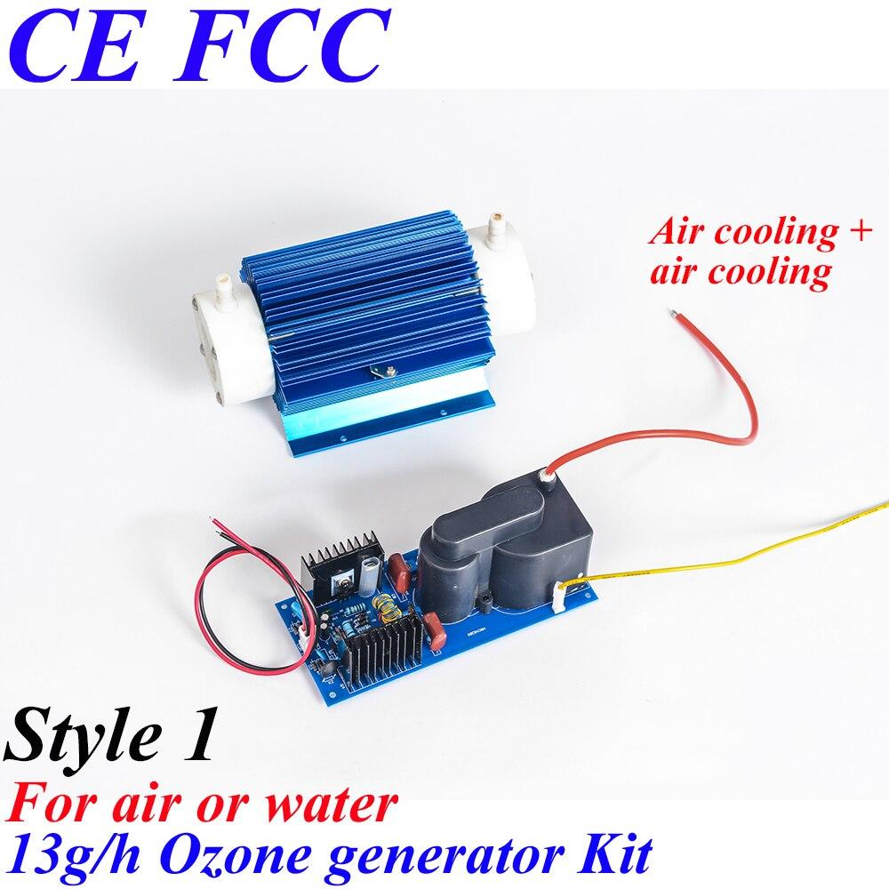 Pinuslongaeva CE EMC LVD FCC Factory outlet 13g/h 13grams Quartz tube type ozone generator Kit Long life ozone module