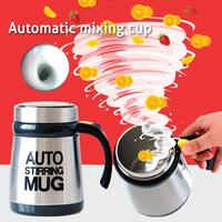 Stainless Lazy Self Stirring Mug Auto Mixing Tea Coffee Cup Office Home Gifts Health Cups Mugs