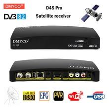 Original D4S PRO DVB S2 HD Satellite Receiver FTA Satellite TV Receptor D4S pro Decoder Full