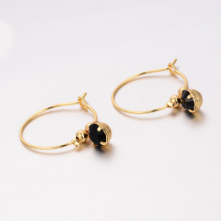 Wando Trendy Middle East Earrings for Women Arab Dubai France Gold Color Jewelry Gifts With Heart African Jewellery  e79