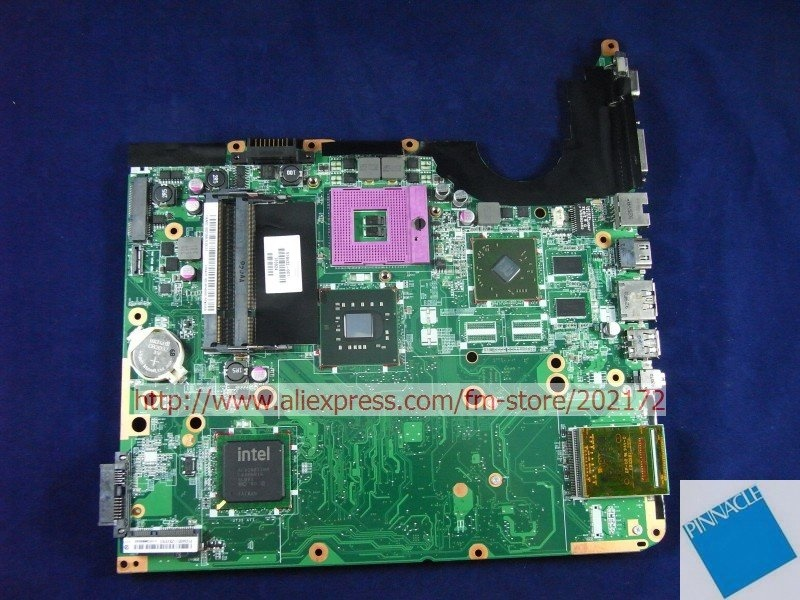 518432 001 Motherboard for HP DV6 PM45 chipset DAUT3DMB8D0 tested good