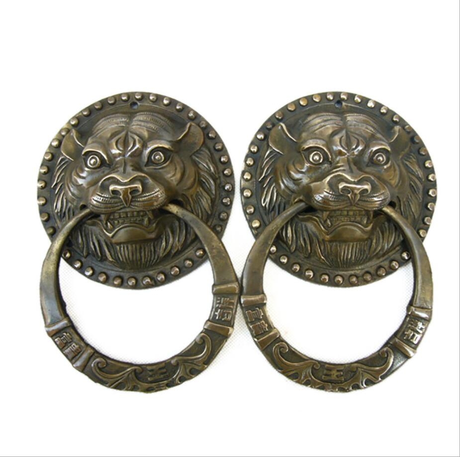 SCY   927+++Pure copper, lion head, door ring, handle wholesaleSCY   927+++Pure copper, lion head, door ring, handle wholesale