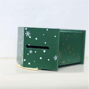 Image 5 - Новинка, Рождественская жестяная мини коробка для конфет, детские подарки, мультяшная копилка, Подарочная коробка, коробки для хранения, банки