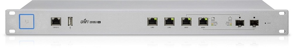 Ubiquiti UniFi Security Gateway USG-PRO-4 1WAN 4LAN With Managed Router Firewall 5x10/100/1000Mbps