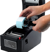 High Quality Thermal Sticker Printer Barcode Printer Label Printer With USB Serial Lan Interface XP 350BM
