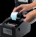 Alta calidad etiqueta de la impresora Térmica impresora de código de Barras Impresora de Etiquetas con Interfaz USB + Serial + Lan XP-350BM