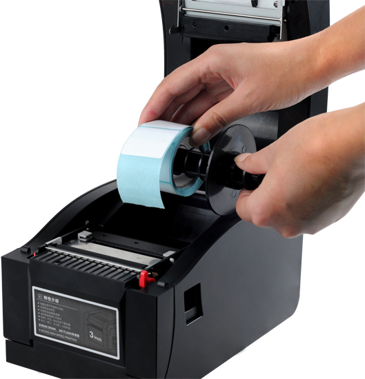 High Quality Thermal Sticker Printer  Barcode Printer Label Printer With USB+Serial+Lan Interface
