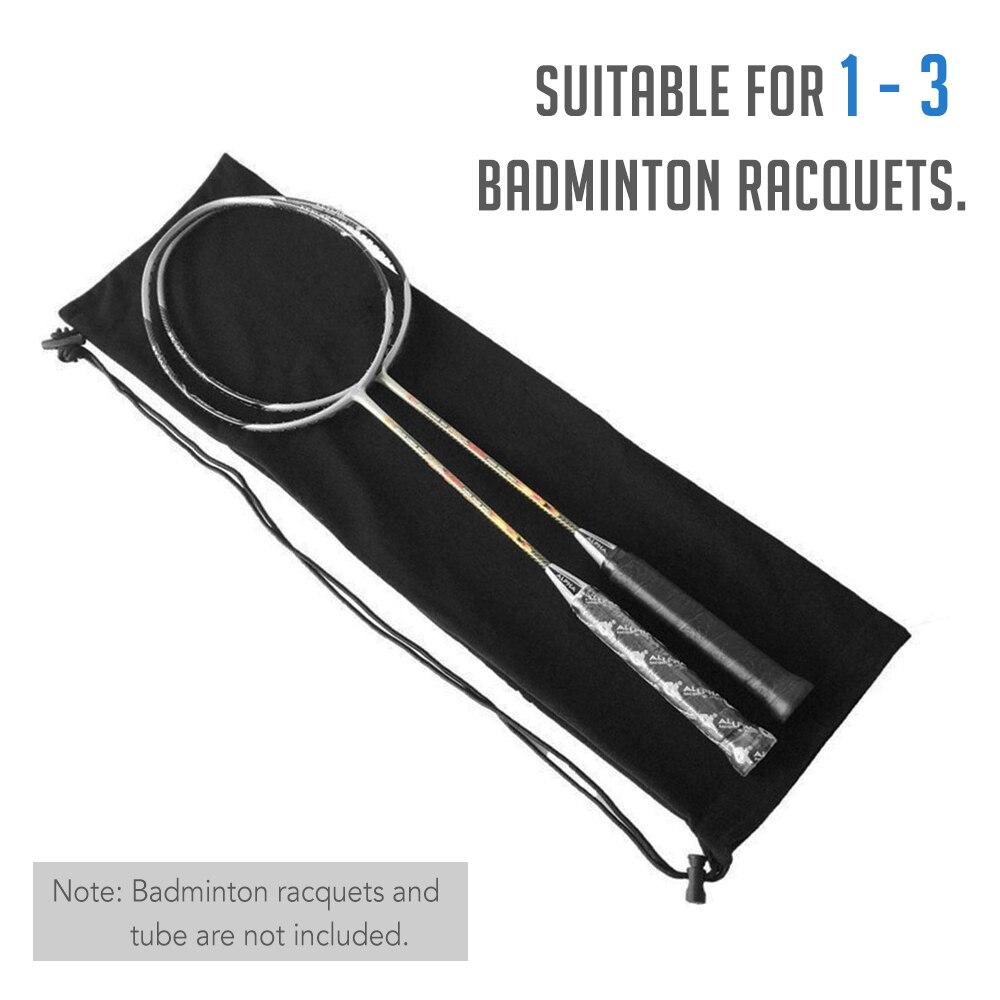 Badminton Racquet Cover Bag Soft Fleece Storage Bag Case For Badminton Racket Racquet Cover Bag Ball Sports