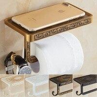 Antique/Black/ Paper Holder Paper Roll Holder Toilet Paper Holder Tissue Holder Restroom Bathroom Accessories