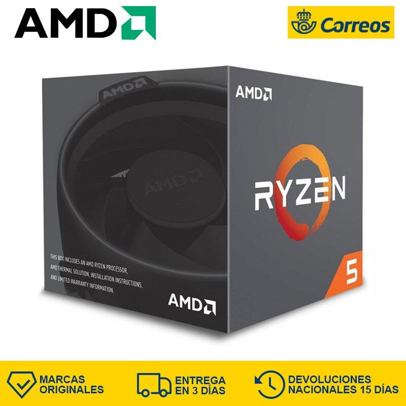 AMD Ryzen 5 2600X AM4 CPU 6 Core 12 Thread 3.6 Ghz CPU AMD Ryzen 2600X Boxed Processor Ryzen Zen+ Series 6-Core Risen 5 2600X