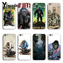 Yinuoda Brazilian Jiu Jitsu Lucu Aksesoris Case untuk iPhone 8 8 PLUS 7 7 Plus 6 6 S Plus X XS XR Cover(China)