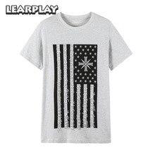 LEARPLAY Far Cry 5 One Nation Under God T-shirt Unisex Casual Summer Grey Tops Shirt S M L XL 2XL футболка norveg soft t shirt размер xl 673 14sw3rs 014 xl grey melange