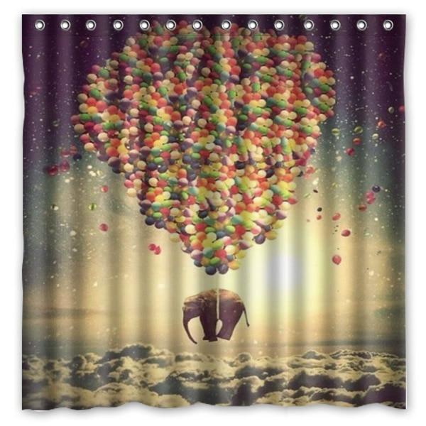 Popular Balloon Shower Curtain-Buy Cheap Balloon Shower Curtain ...