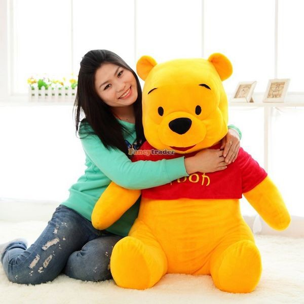 Fancytrader Biggest 39\'\' 100cm Giant Stuffed Cute Winnie Bear, Free Shipping FT50222 (8)
