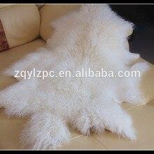 Фактический цвет монгольский овечьего меха, кожи