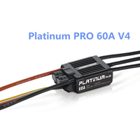 HobbyWing Platinum Pro 50A / 60A V3/ V4 Brushless Electronic Speed controller ESC for RC Drone Heli FPV Multi Rotor