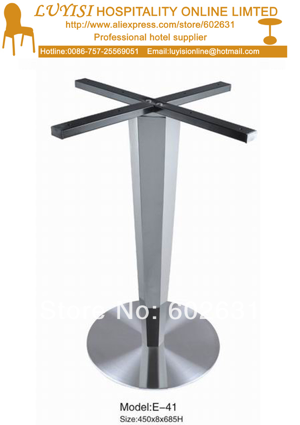 Fashion Stainless steel dining table base цены