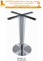 Stainless Steel Table Base Good For Indoor And Outdoor Kd Packing 1pc Carton Fast Delivery