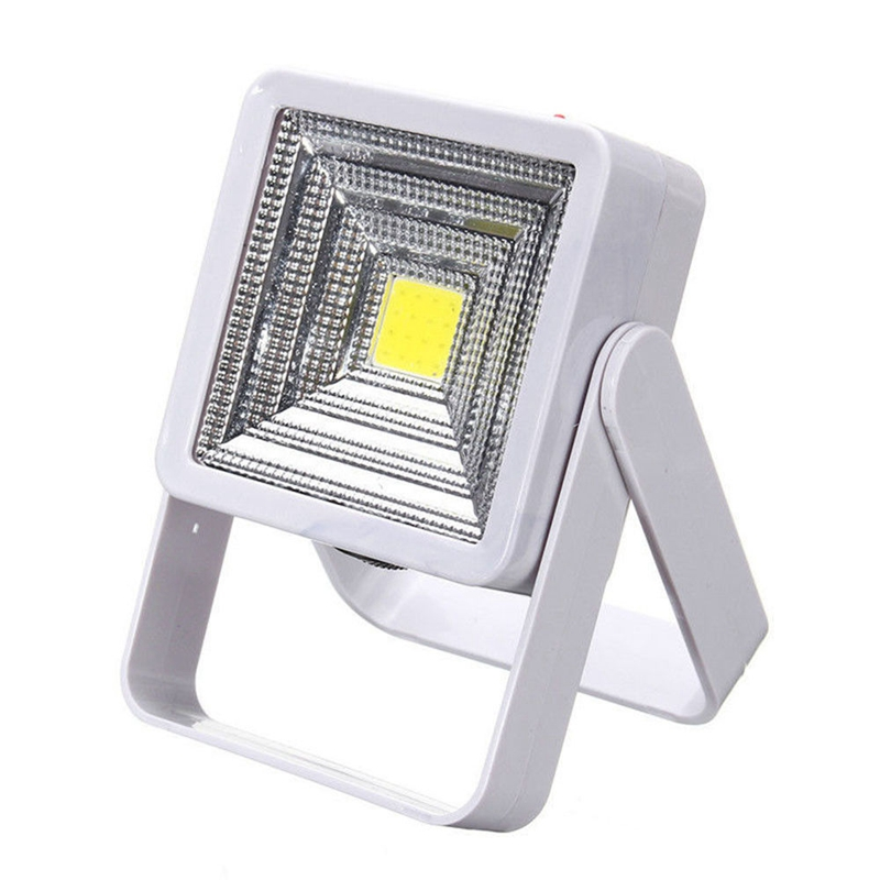 Portable Solar Powered LED Rechargeable Bulb Light Outdoor Camping Yard Lamp