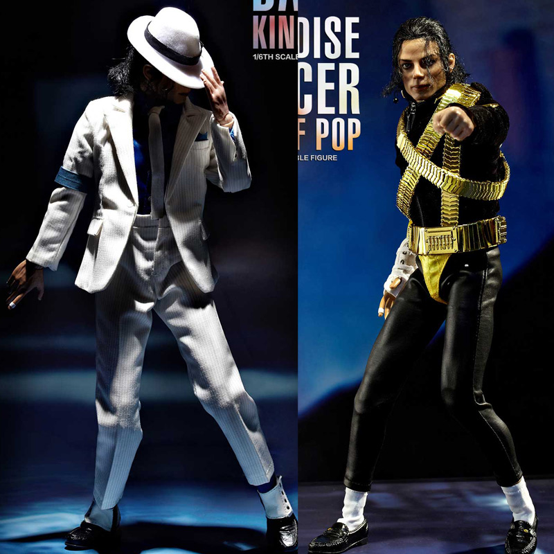 Estartek King of Figure KOF003 1/6 Paradise Dancer MJ Jackson 12inch Collectible Action Figure for Fans Hobby Collection Gift