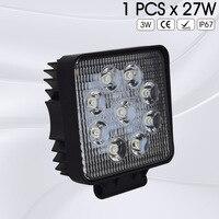 2PCS 6 5 Inch 60W 5D Double Rows 4X4 Car Off Road LED Light Bar Waterproof