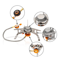 LIXADA Folding Outdoor Gas Stove Camping Stoves 3000W