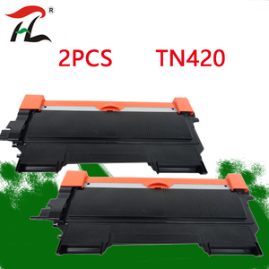 Image 1 - 2 pièces Pour Frère TN420 TN450 TN2250 420 Compatible Cartouche De Toner Noir TN2210 TN2260 TN2215 pour Imprimantes MFC 7860DW DCP 7060D