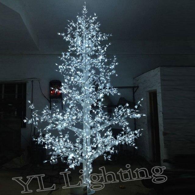 5 Metros 4320 Led Blanco Al Aire Libre árboles De Navidad Vacaciones