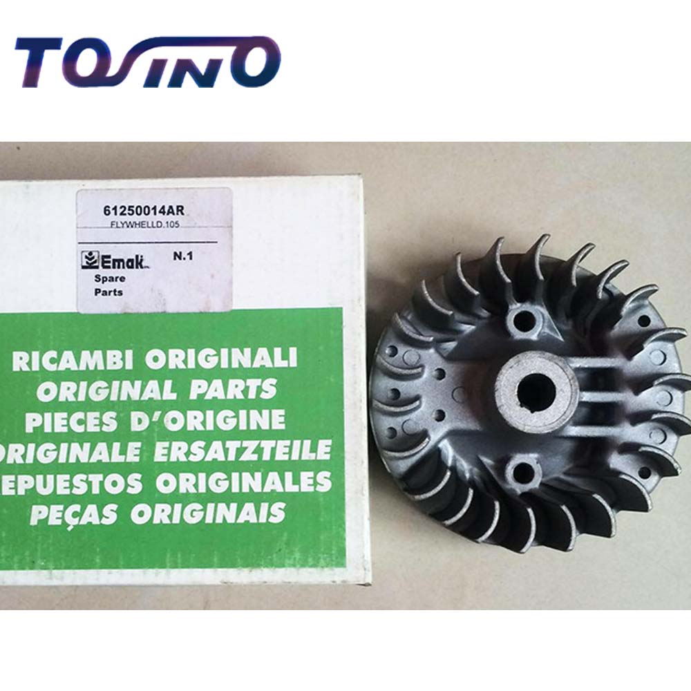 GENUINE FLYWHEEL FITS FOR OLEO-MAC 36/37/38/43/44 BRUSH CUTTER GRASS TRIMMER LAWN MOWER SPARE PARTS 61250014AR manzoni treviso