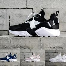 16ad729aeed7 Air Huarache 6 X Acronym City MID Leather High Top Huaraches Mens Trainers  Running Shoe Men