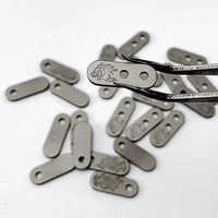 XM-18 / XM-24 Back Clip Titanium Alloy Horse and Fish Pattern Back Clip Small Gear EDC XM18 Tools