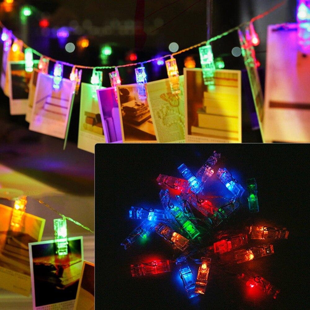 Aliexpress.com : Buy Card Photo Clip LED String USB