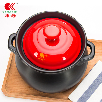 Chinese style sauces soup pot household fire ceramic high temperature stone porridge casseroles earthenware cooking pot stew pan