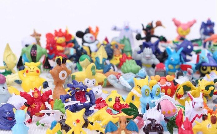 24pcs Mini Pokemon Figures 9