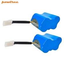 Powtree For Neato 2pcs 5000mAh 7.2V XV-11 XV11 XV 11 Vacuum cleaner Chargeable Battery L10 цена и фото