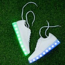 7-цвета/Световой Кроссовки для Девочек/Led Детская Обувь Освещения С Light Up Kids, с подсветкой, Светящиеся кроссовки