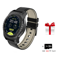 Bluetooth Smart Watch Phone Support TF & SIM Card Smartwatch Heart Rate for Samsung S8 / S8 Plus / S7 HuaWei phone invicta