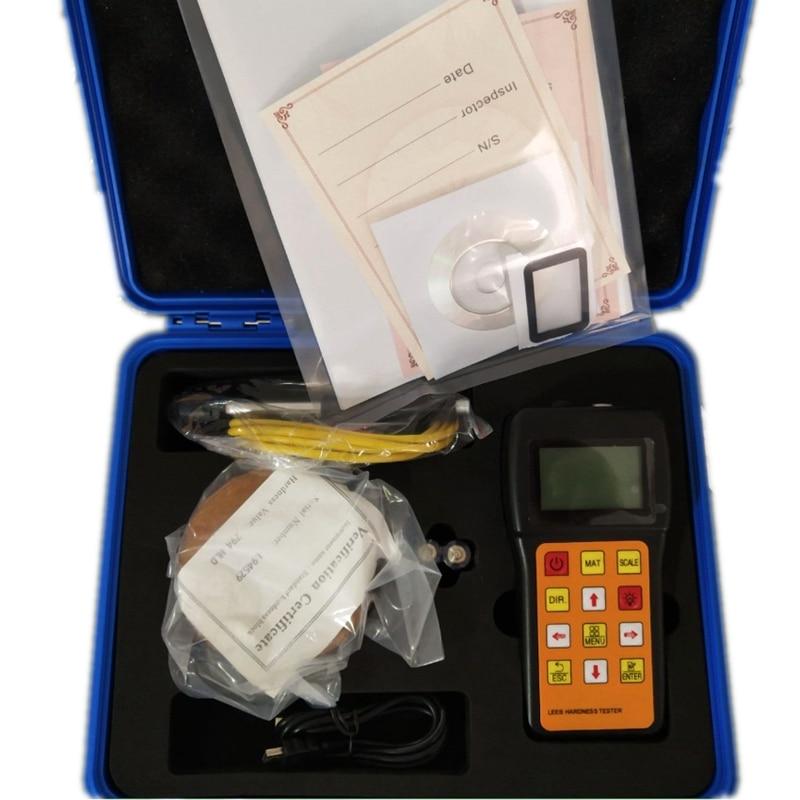 JH180 Portable Hardness Tester Metal Alloy Hardness Measuring HRC HL HB HV HS HRB Digital Display LEEB Hardness Meter Data Hold Hardness Testers     - title=