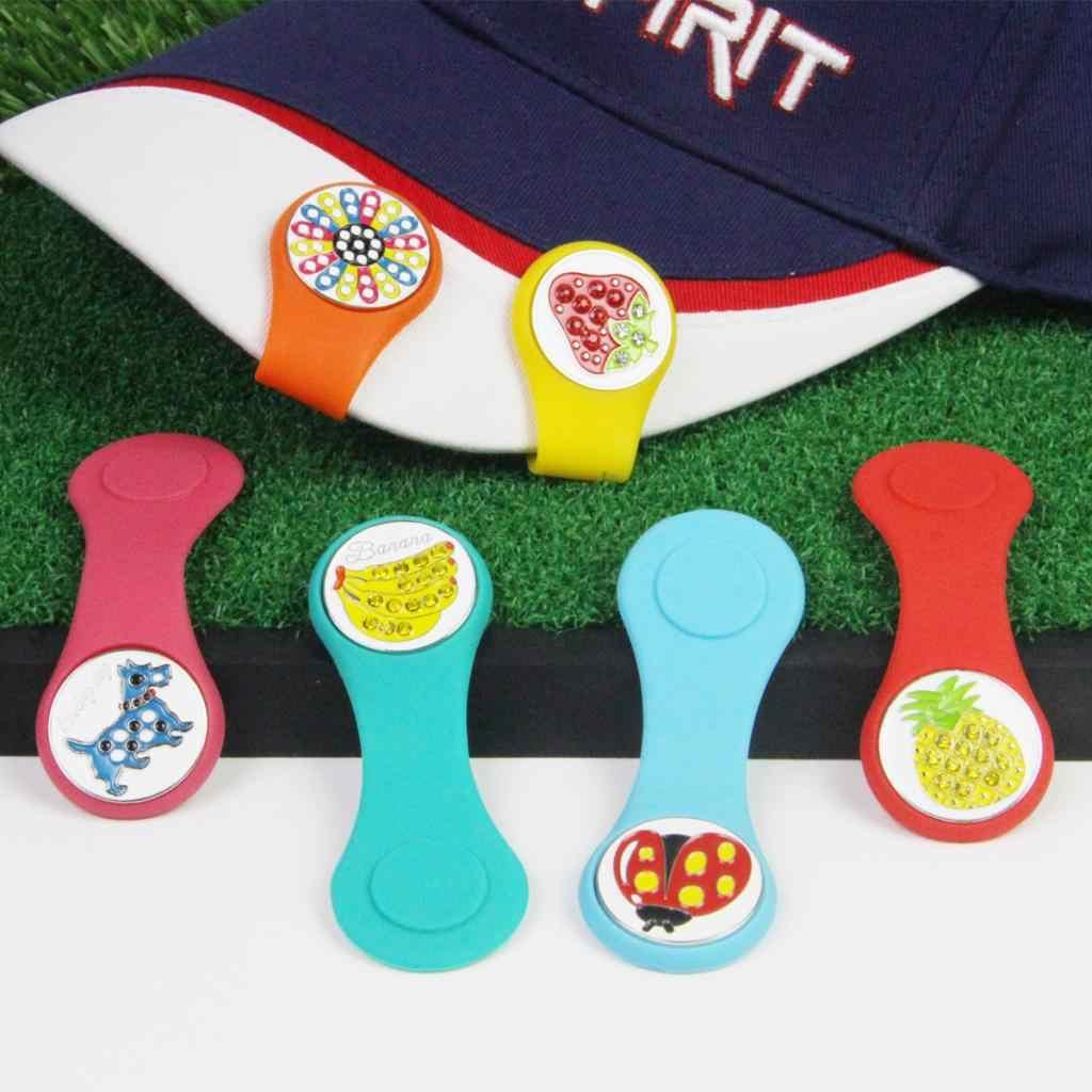 Perfeclan Golf Hoed Clip Ball Marker Magnetische Hoed Cap Klemmen Speler Verwijderbare Bal Mark Gemakkelijk Te Dragen